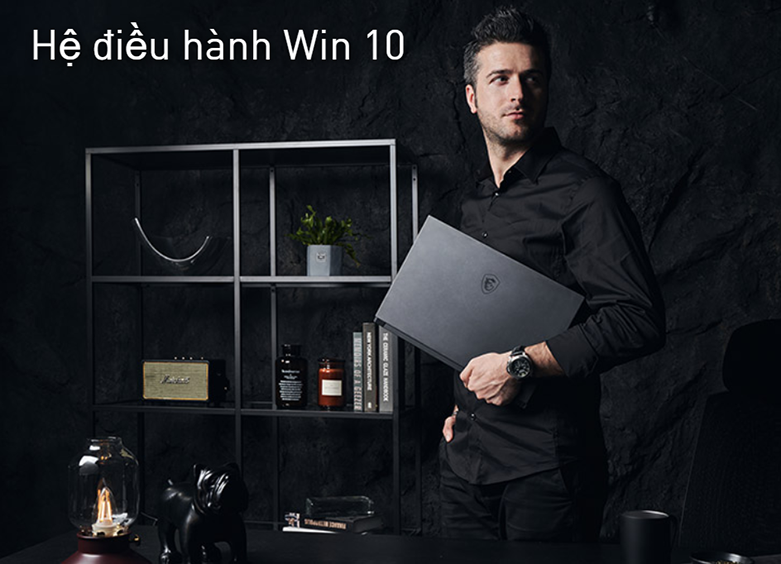 Laptop MSI Modern 14 B11MO-073VN (i7-1165G7) (Xám) | Hệ điều hành Win 10