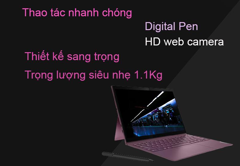 Laptop Lenovo Yoga Duet 7 13IML05-82AS009BVN | Thiết kế ấn tượng, Trọng lượng siêu nhẹ