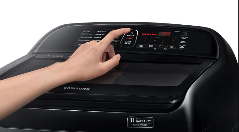 Máy giặt Samsung Inverter 10 kg WA10T5260BY/SV | Kết cấu bền bỉ