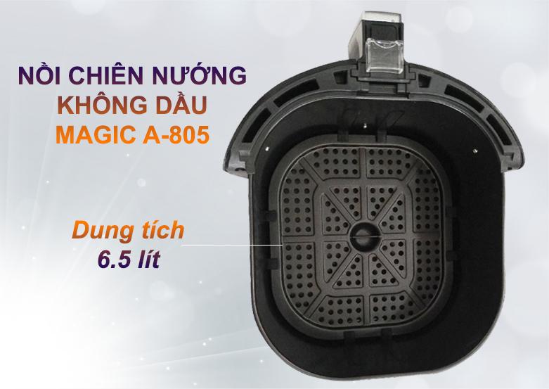 Nồi chiên nướng không dầu Magic 6.5L A-805   Dung tích lớn 6.5 lít