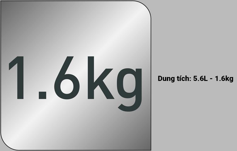 Nồi chiên không dầu Tefal EY701D15   Dung tích 5.6L