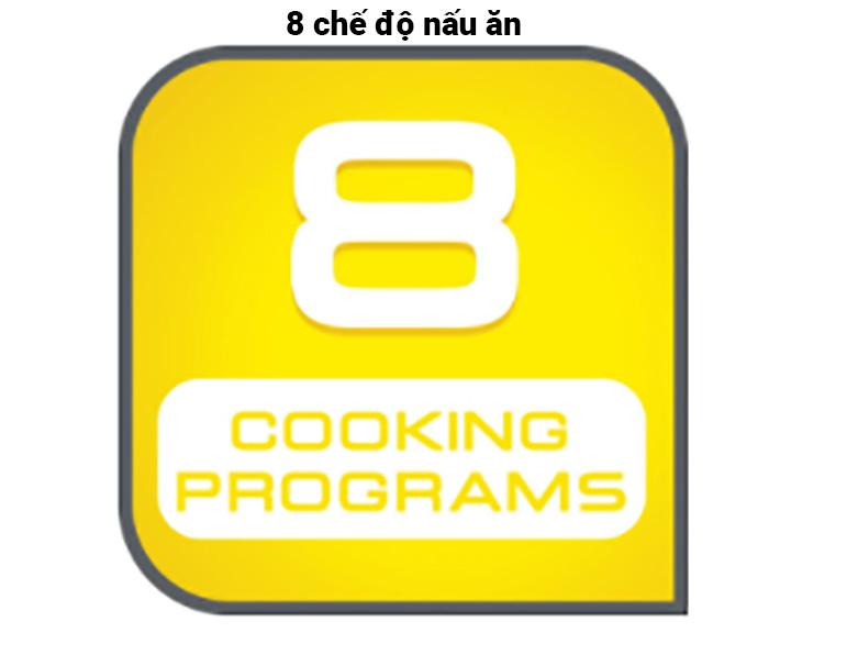 Nồi cơm điện tử Tefal RK732168 - 1.8L, 750W | 8 chế độ nấu ăn