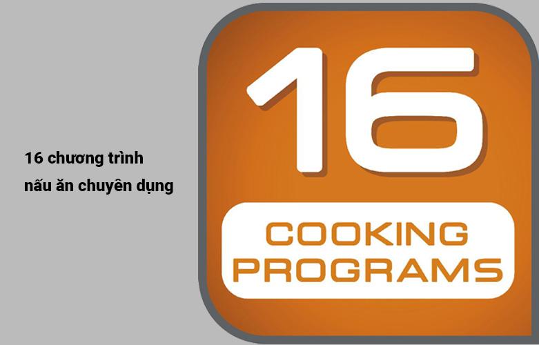 Nồi cơm điện tử Tefal RK808168 - 1.5L, 1200W | 16 chương trình nấu ăn