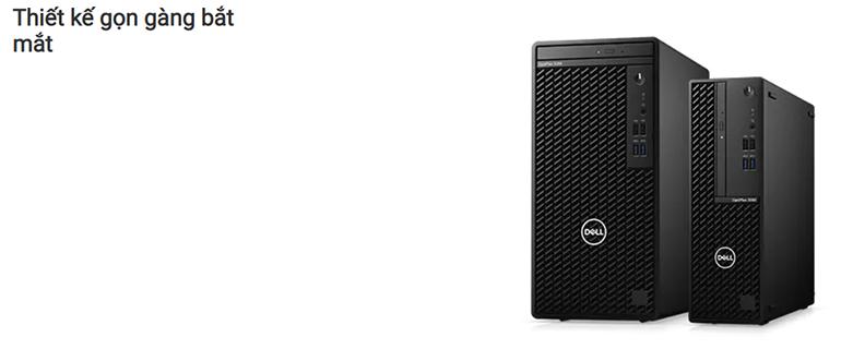 PC Dell OptiPlex 3080 Tower 70233227 | Thiết kế gọn gáng bắt mắt