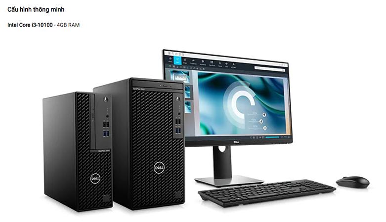 PC Dell OptiPlex 3080 Tower 70233227 | Cấu hình thông minh
