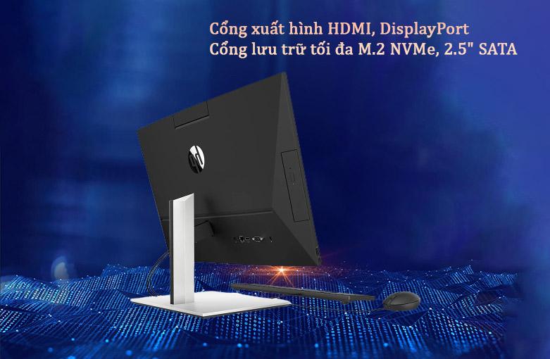 PC HP AIO ProOne 400 G6 (231F0PA) | Cổng kết nối hiện đại