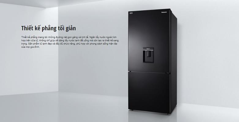 Tủ lạnh Panasonic Inverter 368 lít NR-BX410WKVN | Thiết kế phẳng tối giản
