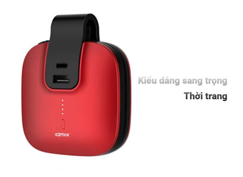 Pin sạc dự phòng Colorful IDMIX Travel - 5000mAh - Primary Color | Kiểu dáng sang trọng thời trang
