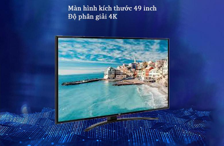 Smart Tivi LG 4K 49 inch 49UN7400PTA | Màn hình kích thước 49 inch