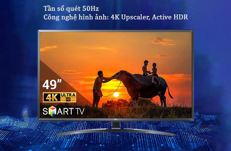 Smart Tivi LG 4K 49 inch 49UN7400PTA | Tần số quét 50Hz