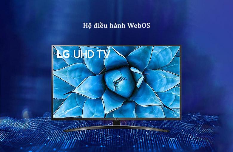 Smart Tivi LG 4K 49 inch 49UN7400PTA | Hệ điều hành WebOS