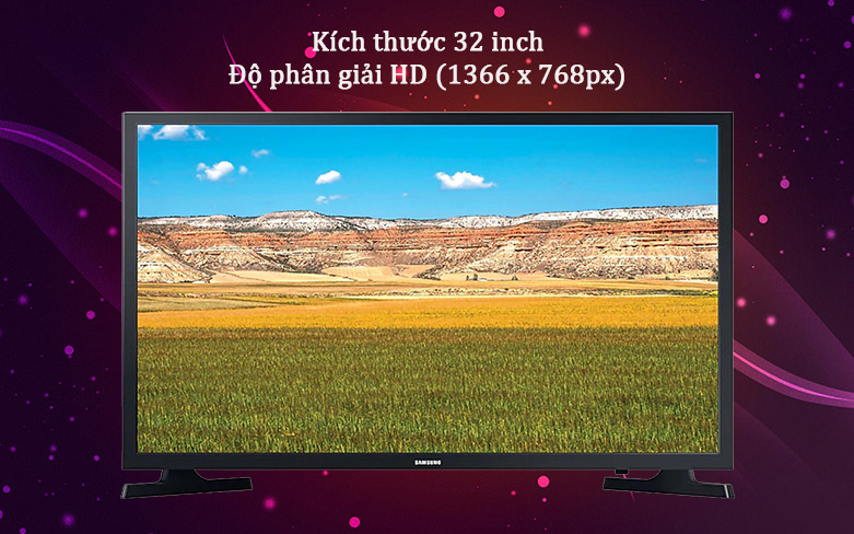 Smart Tivi Samsung 32 inch UA32T4300AKXXV | Thiết kế hiện đại thanh lịch