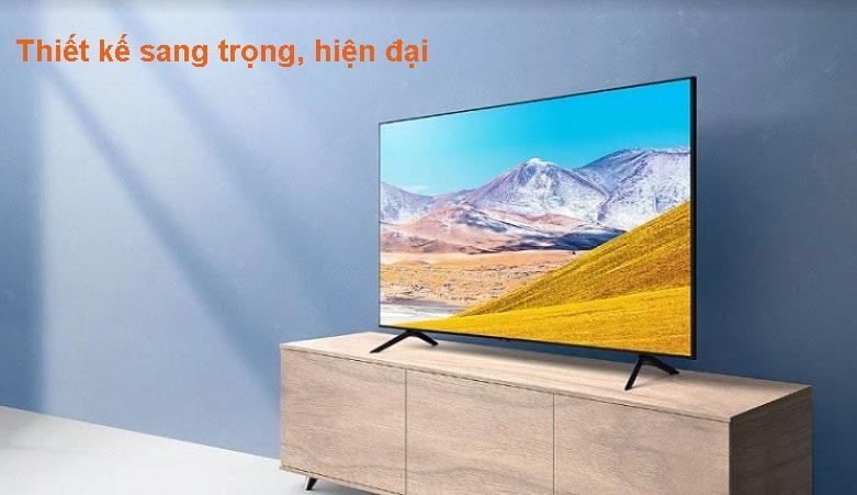 Smart Tivi Samsung 4K 43 inch UA43TU8100KXXV | Thiết kế sang trọng, hiện đại