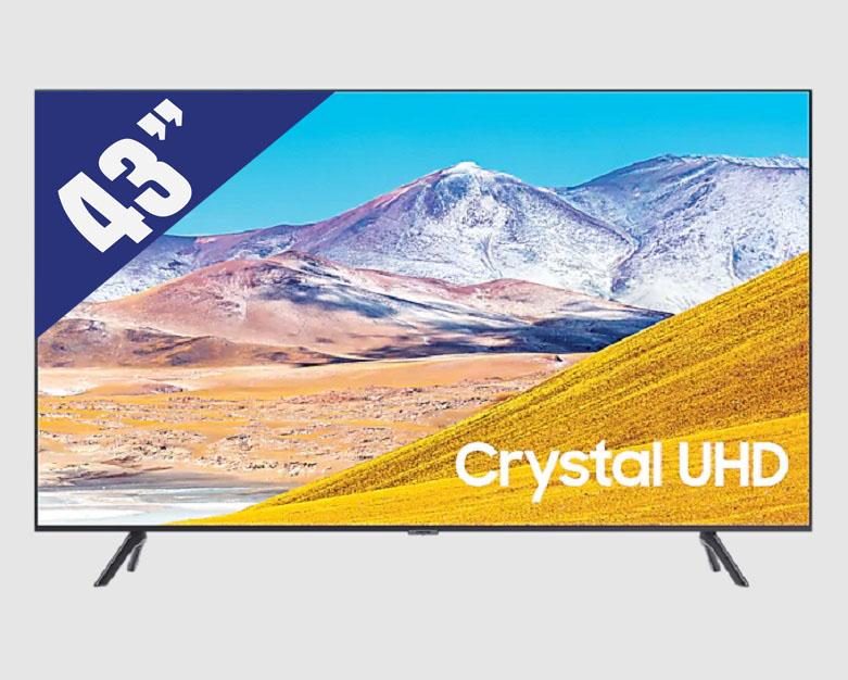 Smart Tivi Samsung 4K 43 inch UA43TU8100KXXV | Độ phân giải cao