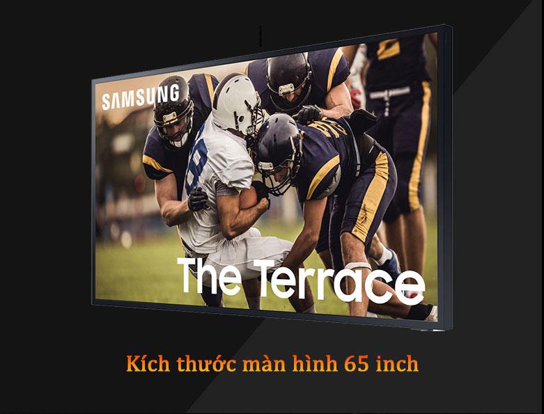 Smart Tivi Ngoài Trời The Terrace QLED Samsung 4K 65 inch QA65LST7T | Thiết kế tinh tế