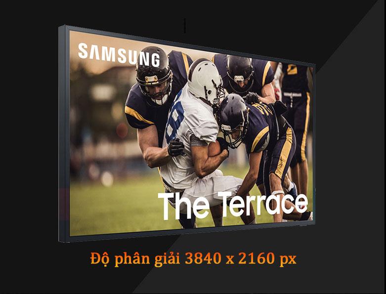 Smart Tivi Ngoài Trời The Terrace QLED Samsung 4K 65 inch QA65LST7T | Màn hình hiển thị sắc nét