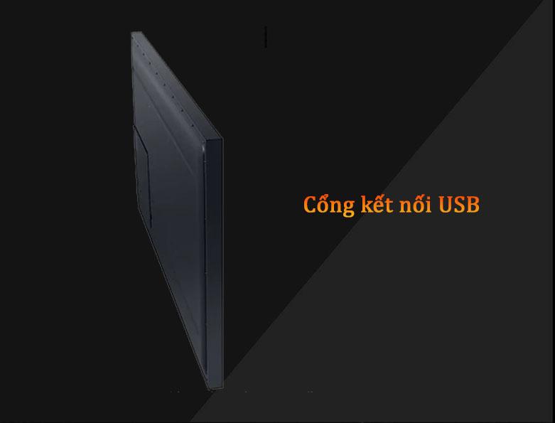 Smart Tivi Ngoài Trời The Terrace QLED Samsung 4K 65 inch QA65LST7T | Cổng kết nối USB
