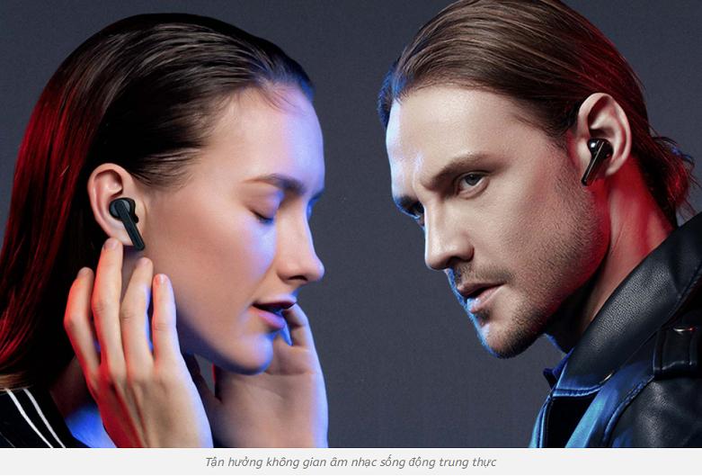 Tai nghe Bluetooth True Wireless Soundpeats TrueCapsule   Chip âm thanh vượt trội