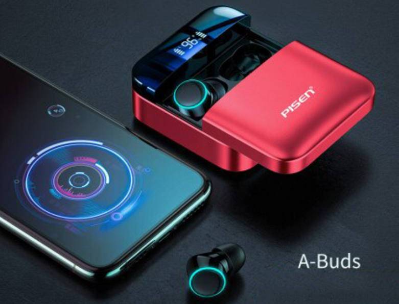 Tai nghe Pisen True Wireless A-Buds2000 | Chống thấm IPX5