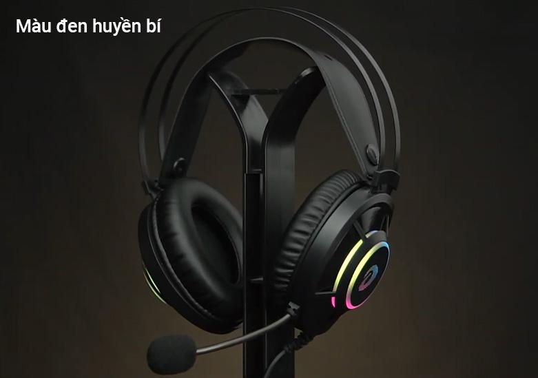 Tai nghe gaming DareU EH469 RGB (Đen) | Màu đen huyền bí
