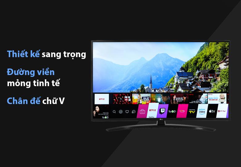 Tivi Smart Tivi LG 4K 43 inch 43UN7400PTA | Thiết kế sang trọng