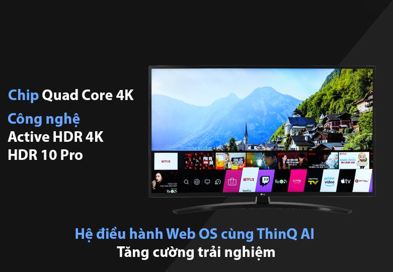 Tivi Smart Tivi LG 4K 43 inch 43UN7400PTA | Công nghệ hình ảnh hiện đại