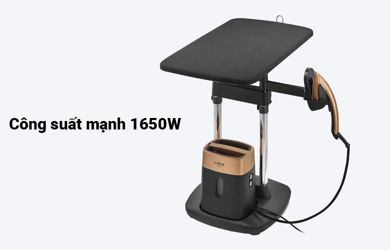 Bàn ủi hơi nước cầm tay dạng đứng Tefal QT1020E0 | Công suất mạnh 1650W