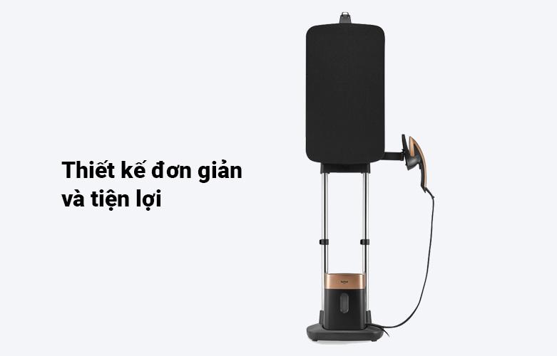 Bàn ủi hơi nước cầm tay dạng đứng Tefal QT1020E0 | Thiết kế đơn giản tiện lợi