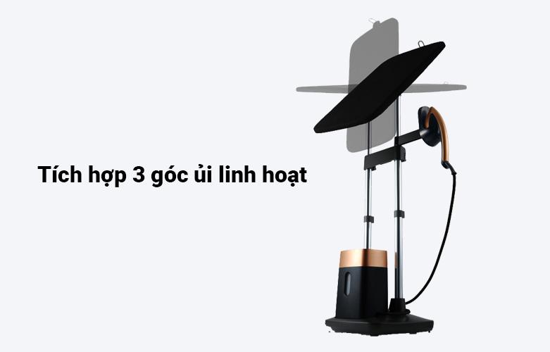 Bàn ủi hơi nước cầm tay dạng đứng Tefal QT1020E0 | Tích hợp 3 góc ủi linh hoạt