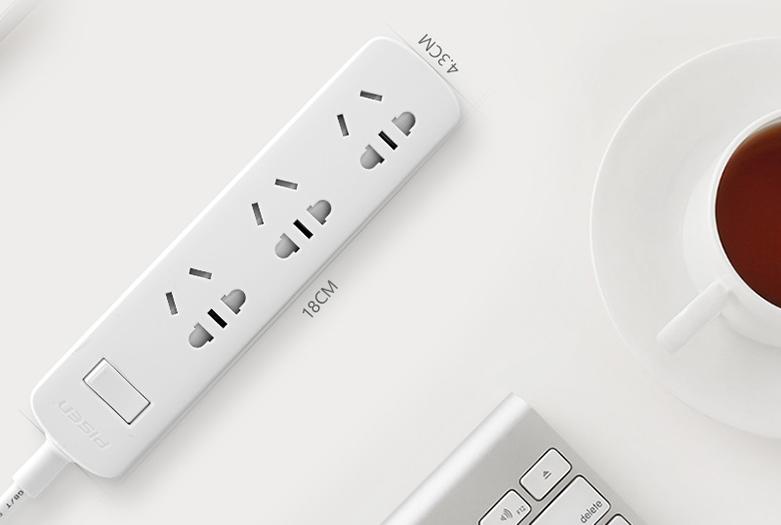 Ổ cắm điện Pisen 003(EP) | Thiết kế nhỏ gọn