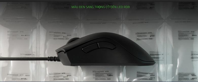 Chuột gaming Razer Deathadder V2 Mini (RZ01-03340100-R3M1) | Màu sắc sang trọng