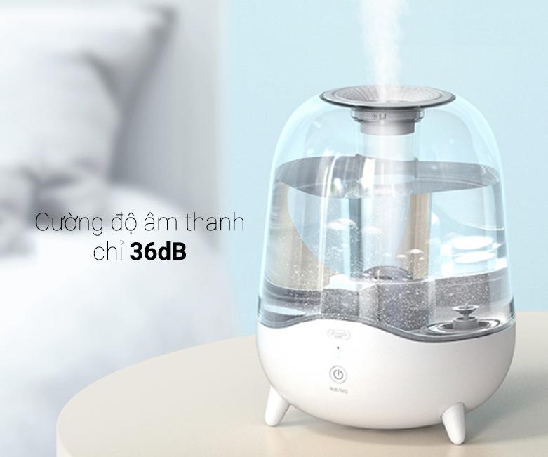 Máy tạo độ ẩm Deerma Humidifier F325 | Cường độ âm thanh chỉ 36dB
