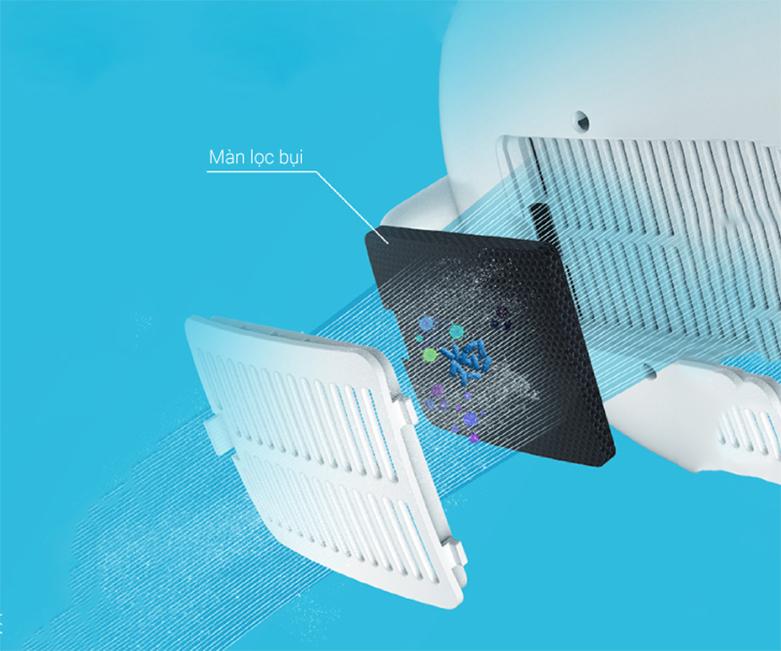 Máy tạo độ ẩm Deerma Humidifier F325 | Màn lọc bụi