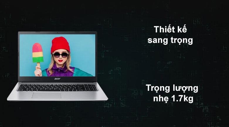 Laptop Acer Aspire 3 A315-23-R1XZ | Thiết kế sang trọng, Trọng lượng nhẹ