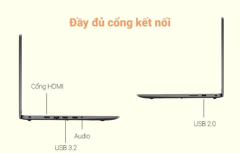 Laptop Dell Vostro 14 3400   Đầy đủ công kết nối