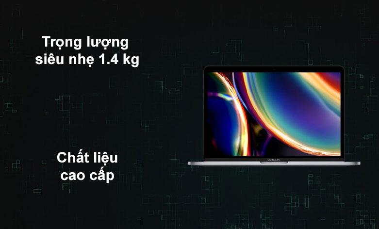 Laptop APPLE MacBook Pro 2020 MYD92SA/A | Trọng lượng siêu nhẹ, Chất liệu cao cấp