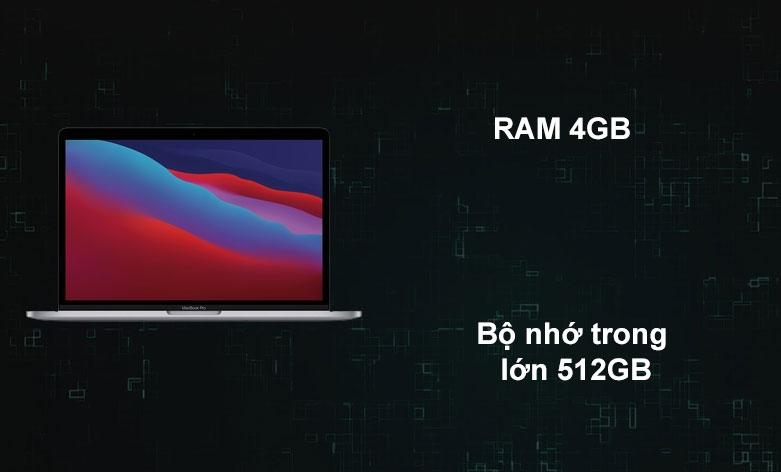 Laptop APPLE MacBook Pro 2020 MYD92SA/A | Dung lượng lưu trữ thoải mái