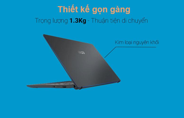 Laptop MSI Prestige 14 A11SCX 282VN | Thiết kế hiện đại