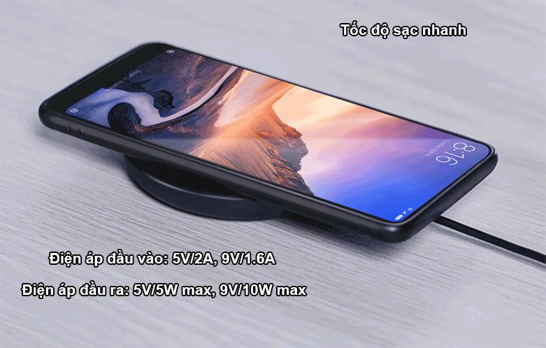 Sạc Không Dây Xiaomi Mi Wireless Charging Pad GDS4142GL | Tốc độ sạc nhanh