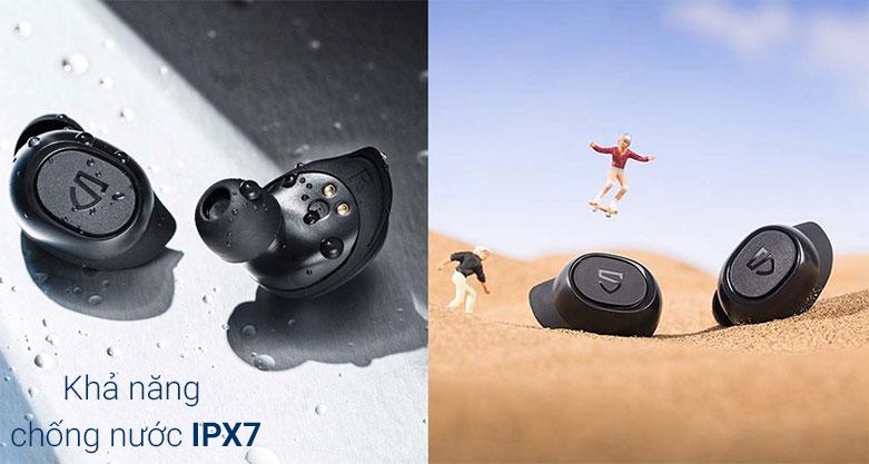 Tai nghe không dây True Wireless Soundpeats TrueFree 2 | Chống nước IPX7
