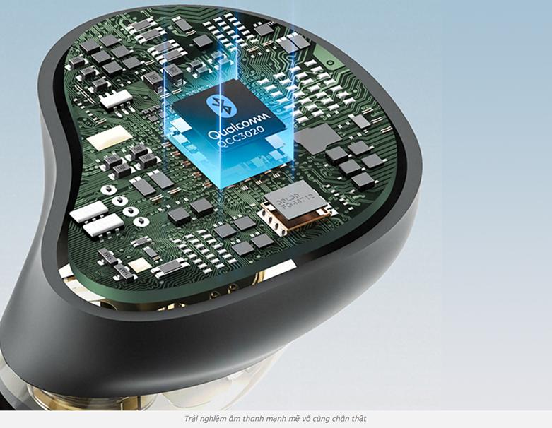 Tai nghe không dây Bluetooth True Wireless Soundpeats Truengine 3 SE || Chip Xử lý âm thanh