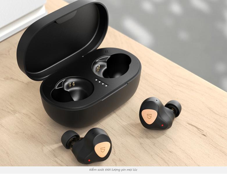 Tai nghe không dây Bluetooth True Wireless Soundpeats Truengine 3 SE || Thời lượng pin dài