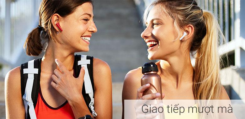 Tai nghe không dây True Wireless Huawei Freebuds 4i    Giao tiếp mượt mà