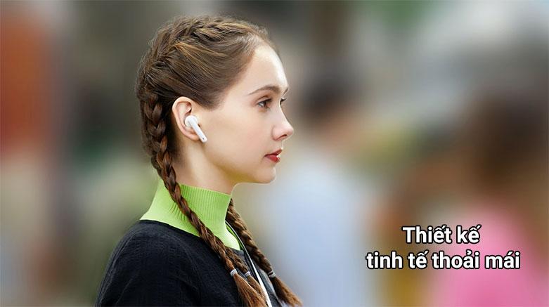Tai nghe không dây True Wireless Huawei Freebuds 4i    Thiết kế thoải mái