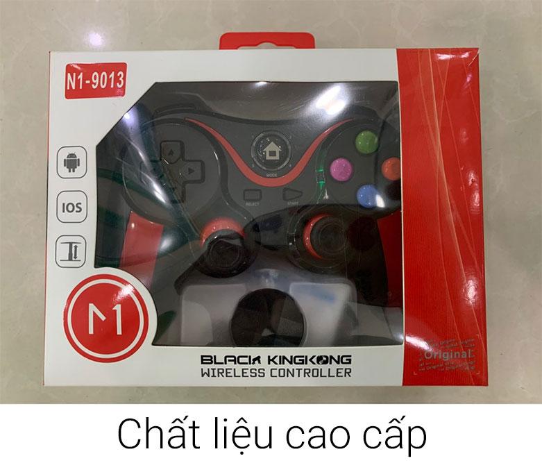 Tay cầm gamepad bluetooth N1-9013 | Chất liệu cao cấp