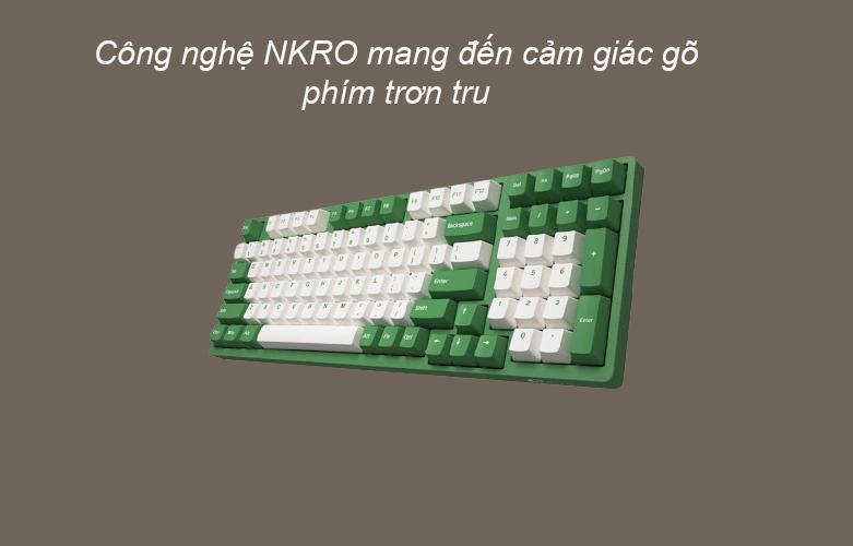 Akko 3098 DS Matcha Red Bean (Gateron Cap Switch) | Bàn phím cơ Akko 309 DS Matcha Red Bean