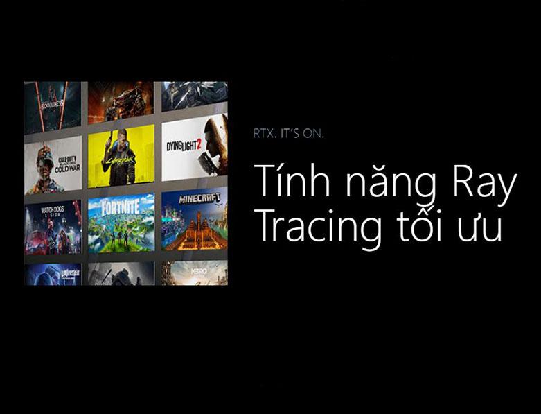 Card màn hình Asus Dual Geforce RTX 3070 8GB GDDR6 | Tính năng Ray Tracing