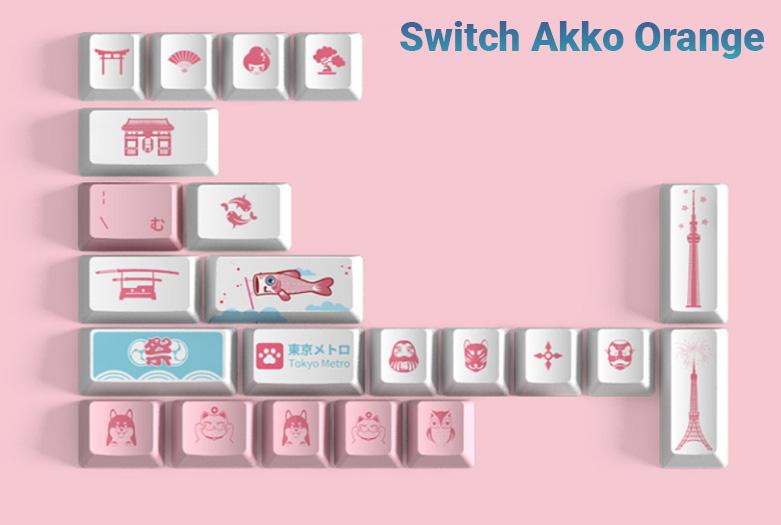 Akko 3069 World Tour Tokyo R2 | Bàn phím Akko 3069 World Tour Tokyo R2