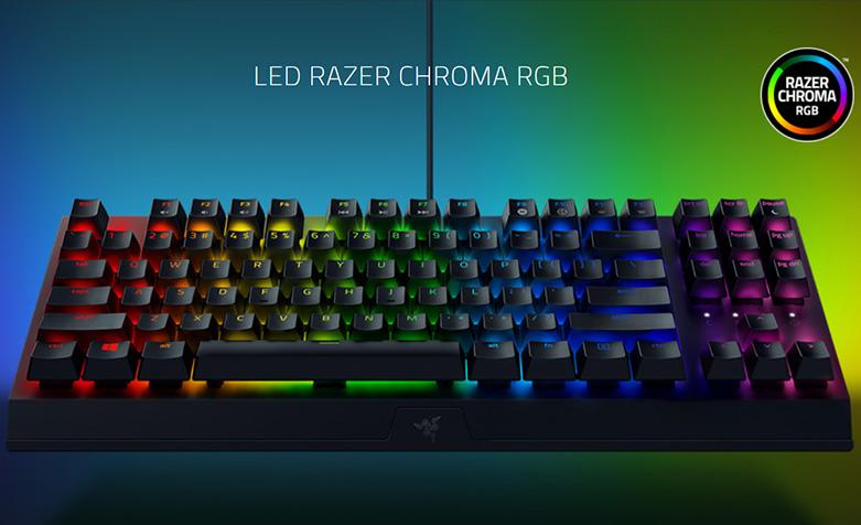 Razer Blackwidow V3 Tenkeyless (RZ03-03490100-R3M1) | Bàn phím cơ Razer Black Widow V3 TKL