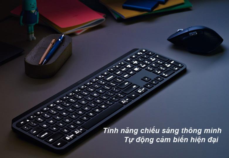 Logitech MX Keys (Đen) | Bàn phím không dây Logitech MX Keys